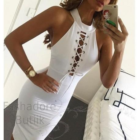 Paeltega kleit