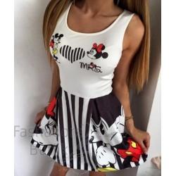 Mickey ja Minnie kleit
