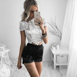 Pitsiline crop top