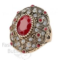 Vintage türgi stiilis sõrmus