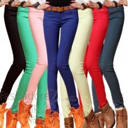 Värvilised teksad