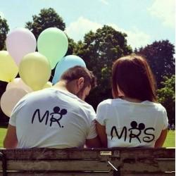 Mr & Mrs t-särk