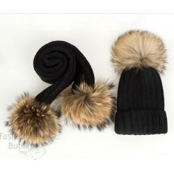 Mütsi ja salli komplekt