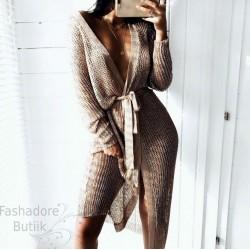 Metallik sädelusega kleit