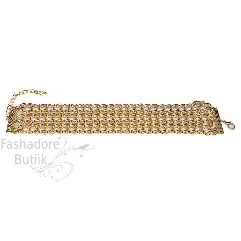 6684f5f5b44 Pärlitega choker kaelakee - Fashadore
