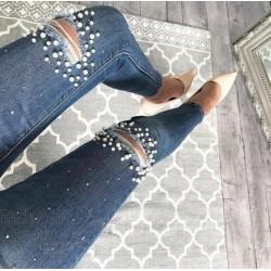 Pärlitega teksad