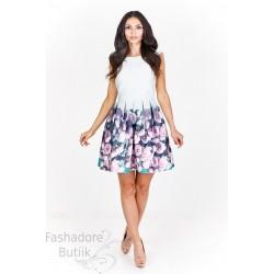 Lilledega pidulik kleit