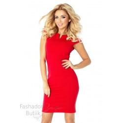 Punane bodycon kleit