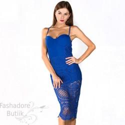 Pitsilise osaga kleit