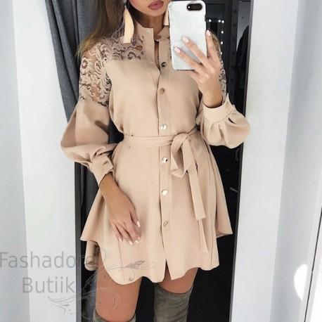 Pitsiline pidulik skater kleit