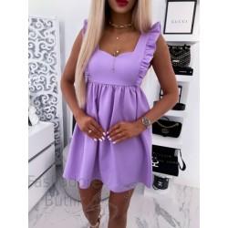 Volangidega kleit